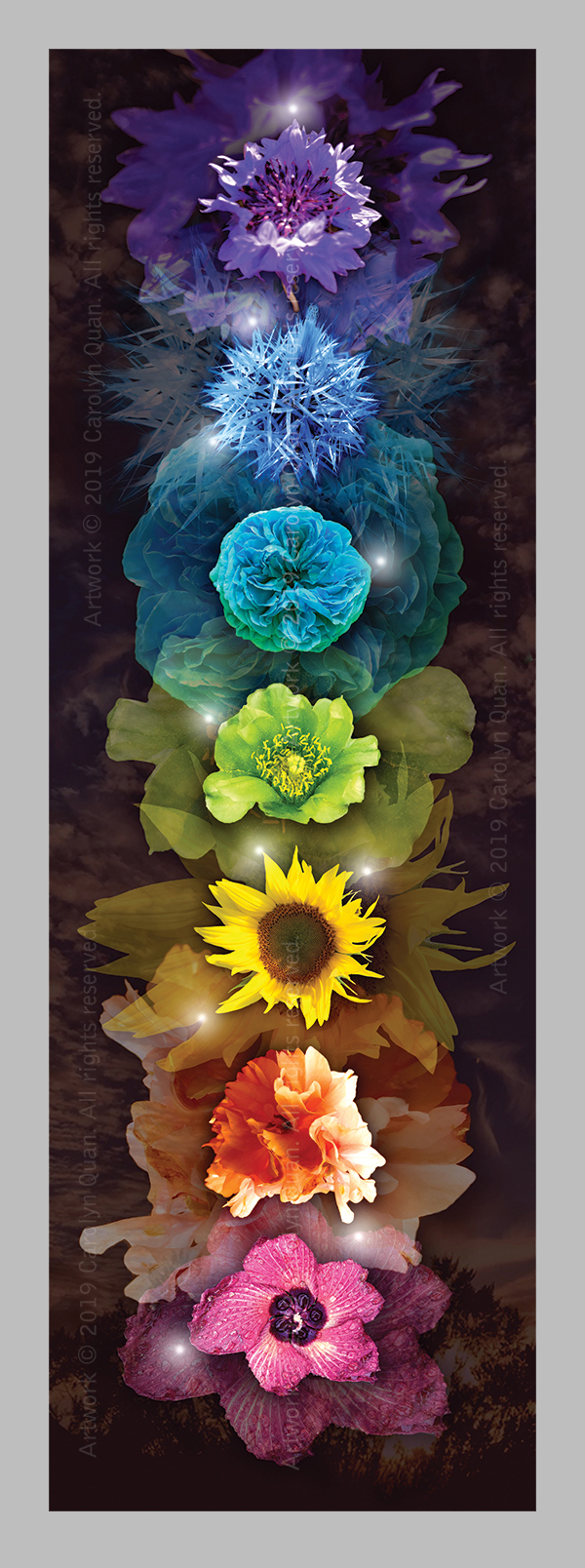 Bo/îte carr/ée Motif floral - 15 x 15 cm Mes choses pr/éf/ér/ées Rachel Ellen /«My Favourite Things/»