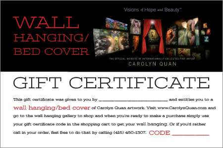 Gift Certificates-WallHanging